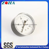 Mini fixation de la jauge de pression pour gaz ou hydraulique