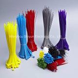 cintas plásticas de 13 3/4 '' de 50lbs brancas/do preto/cor nylon
