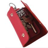 Förderung-Geschenk-Rindleder-echtes Leder-Auto-Schlüssel-Halter