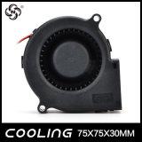 40mm 70mm 90mm 120mm ventilador de refrigeração centrífugo sem escova do ventilador de uma C.C. Turbo de 5 polegadas