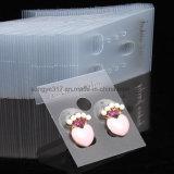 Carte de empaquetage de bijou de carte de boucle d'oreille de boucle d'oreille