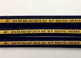 4 Schichten des gewundene Verstärkungshydraulischen Gummischlauches 4sh 4sp mit Cer und ISO