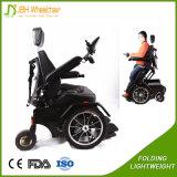 Aço de pé cadeira de rodas elétrica ao ar livre