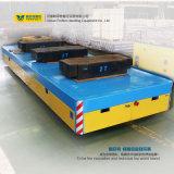 큰 테이블 동력 급강하 가로장 편평한 수레 전기 수송 손수레
