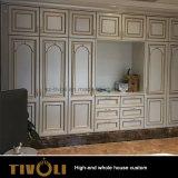 Moderne weiße hölzerne Korn-Landhaus-Ausgangsküche-Großhandelsmöbel-vollständige Haus-Lösung Tivo-002VW