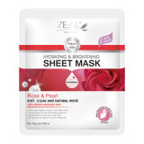 Zeal Face Care Rose & Pearl Hydrate & Brightening Sheet Máscara 25ml