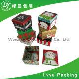 Contenitori ondulati colorati impaccanti cosmetici di contenitore di carta di regalo