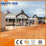 Almacén y taller modificados para requisitos particulares con la estructura del marco de acero en buena calidad