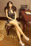 Volle TPE-reale Geschlechts-Puppe 165cm mit dem Metalskelett