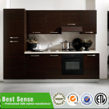 最もよい感覚の高品質のクルミの純木のクルミの食器棚