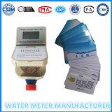 Meter van de Stroom van het Water van rf of IC de Kaart Vooruitbetaalde