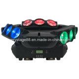 Свет спайдера спайдера 9X10W RGBW 4in1 миниый СИД Moving головной
