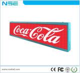 Mensagem do preço de fábrica LED tela Car Assinar Board P6mm Visor de barramento do LED