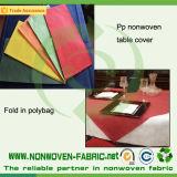 A TNT Nonwoven Fabric de polipropileno para toalhas de mesa