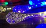 水晶Waterdrops太陽ストリングライト