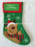 Cadeau de Noël Hot Sale Décoration promotionnel chaussettes de Noël