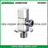 Robinet à tournant sphérique en laiton de cornière de qualité européenne (AV3068)