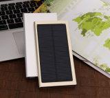 8000mAh는 휴대용 이동 전화 건전지 태양 충전기 힘 은행을 체중을 줄인다