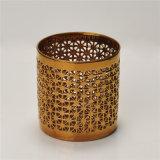 Galvanisierter keramischer Tee-Licht-Kerze-Halter