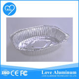처분할 수 있는 둥근 알루미늄 호일