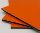 Польза панели лоснистого цвета алюминиевая составная для украшения внешней стены