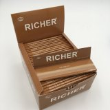 Fabrik-Preis Bleached& ungebleichtes Zigarettenpapier Ihre Marke