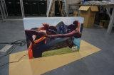 Rectángulo ligero publicitario derecho libre de la materia textil de Tianyu