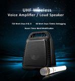 De draagbare Persoonlijke AudioVersterkers van het Systeem van de Gids Bluetooth met Draadloze Microfoon