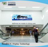 P5 suportes publicitários no interior grande display LED eletrônico digital