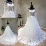 Langer Hülsen-Abend-Partei-Abschlussball-moslemisches Dubai-Brauthochzeits-Kleid-Kleid