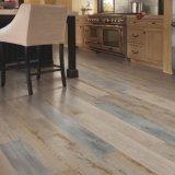 木デザイン防水クリックSpc Lvt PVCビニールの床