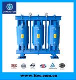 Reator médio do filtro da tensão com o banco do capacitor para Pfc