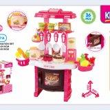 小型演劇の台所一定の子供のプラスチックおもちゃのふりをしなさい