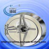 ステンレス鋼楕円形のShadowless圧力マンホールカバー