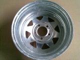 L'acciaio di disegno dello Spoke spinge la rotella della gomma automatica 5X114.3
