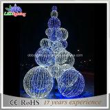 24V 3D Boom van de Bal van Kerstmis van Kerstmis Openlucht