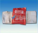 Tissu texturé en fibre de verre traité thermiquement
