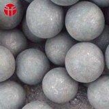 esfera de aço de moedura forjada de 75mm dureza elevada para a mineração
