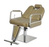 Schönheits-Salon-beweglicher alte Schule-Herrenfriseur-Stuhl mit dem Stützen