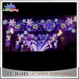 luz decorativa do motivo da rua do Natal de 800cm 2D