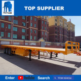 Titan-Fahrzeug - kleiner Tri-Welle Contanier Flachbett-Sattelschlepper