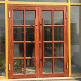 Le griglie progettano il portello di alluminio di Kfc della pittura di legno per la Camera di Commerical