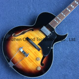 L-5 personnalisé de Jazz de corps creux, guitare électrique (TJ-296)