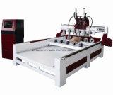 Neues Modell 2018 CNC-Fräser-Transchiermesser-Maschine 1325 mit Dreh für Stich-Möbel, Tür, Beine