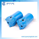 Tungsteno Carbide Taper Drill Button Bit per Stone Quarrying