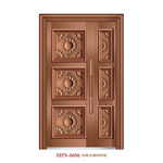 Trappe /Stainless Steel Door /Entrance Door/Son et Mother (6606)