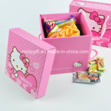 Caixas de cartão ondulado de empacotamento da impressão feita sob encomenda