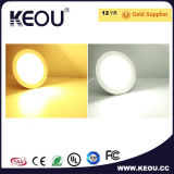 세륨 RoHS Approved 18W LED Panel Light Round와 Square