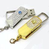 空の星の回転USBのフラッシュ駆動機構のペンの棒のディスク・メモリをくまなく