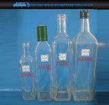 500ml調理のための深緑色の円形のガラスオリーブ油の瓶